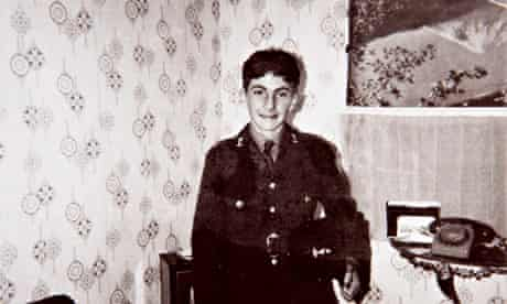 David Clapson when he was in the army … he was found dead last year, after his benefits were stopped