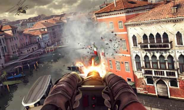 Modern Combat 5 for iPhone and iPad.