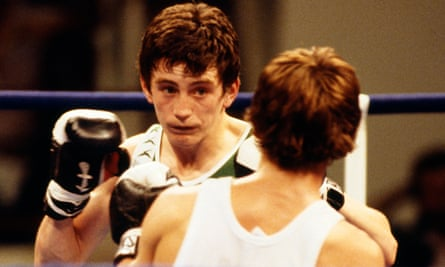 Barry McGuigan at the 1978 Commonwealth Games