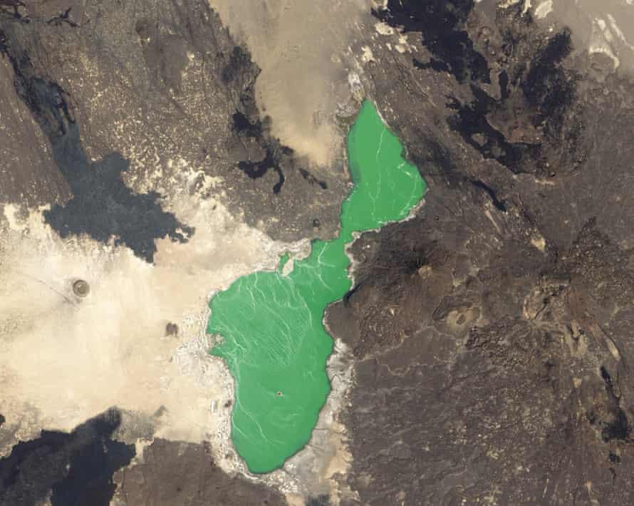 Danakil Depression in northern Ethiopia,