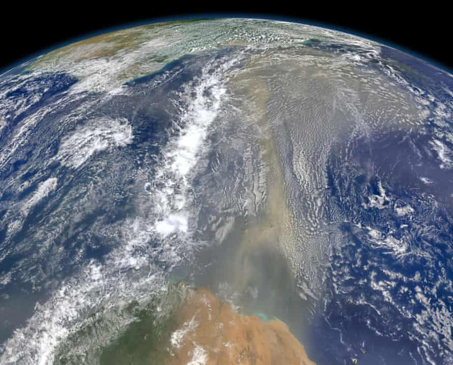 Saharan Dust on the Move