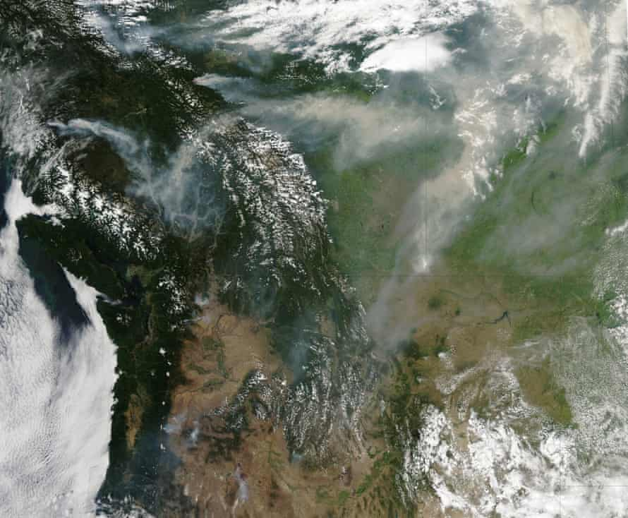 A Rash of Fire in Canada and the Pacific Northwest