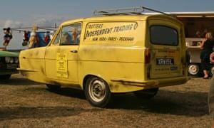 Del Boy's van