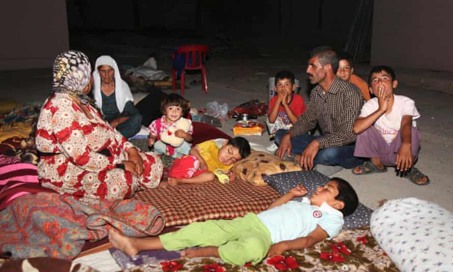 yazidi refugees