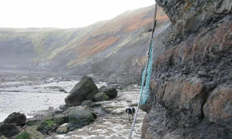 Poly rope near Port Mulgrave
