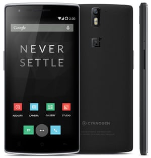 OnePlus One phone: front view