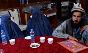 Afghan relatives of civilian victims of US forces