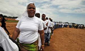 Liberia's joint Nobel Peace Prize 2011 Leymah Gbowee