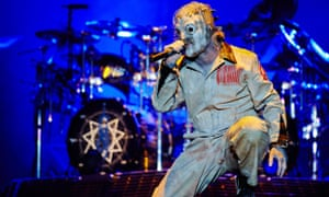 Corey Taylor of Slipknot performs on stage Photo by Gary Wolstenholme/Redferns via Getty