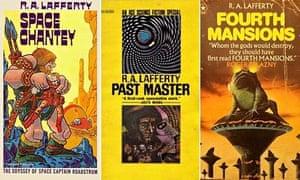 RA Lafferty covers