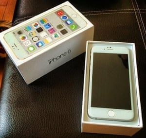 TechRadar's image of the 'iPhone 6'.