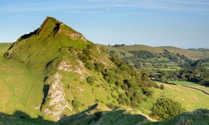 Parkhouse Hill from Chrome Hill, Peak District national park, Derbyshire.
