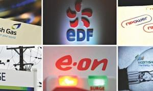 Big six energy firms