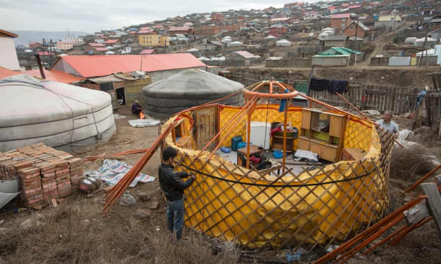 ger tents Mongolia