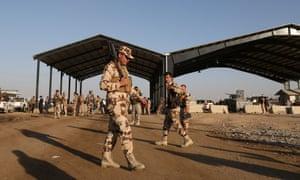 Peshmerga front line
