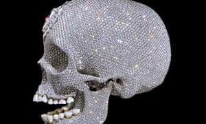 Diamond skull: For the love of God, Damien Hirst