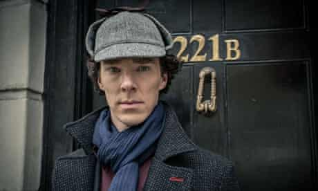 Benedict Cumberbatch as Sherlock Holmes in the BBC's production