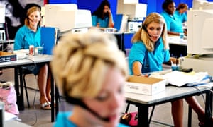 Kingston University Clearing call centre