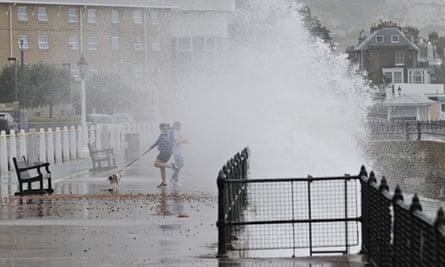 ex-Bertha hits Dover