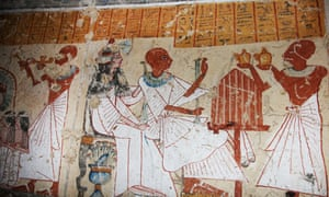 Women had plenty of financial rights in ancient Egypt, but it's been a  little woozy ever since. Photograph: Uncredited/AP