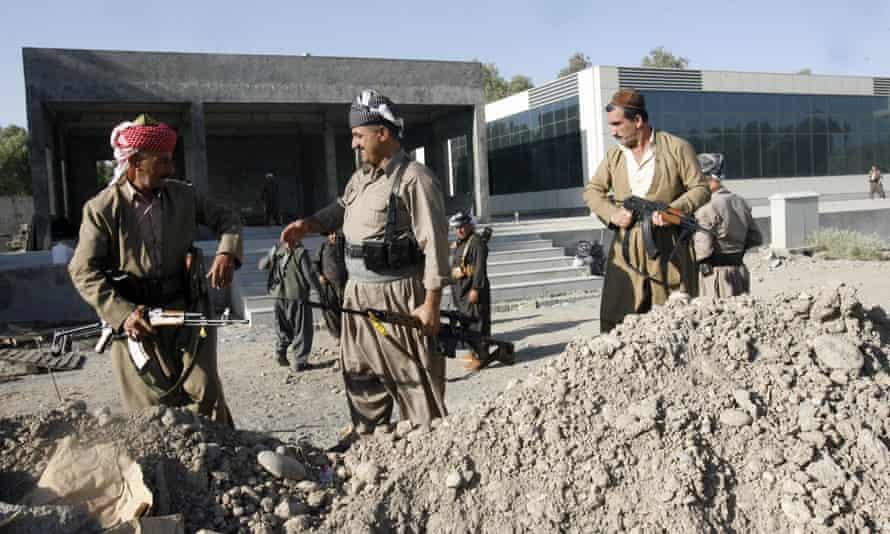 Kurdish forces in Iraq