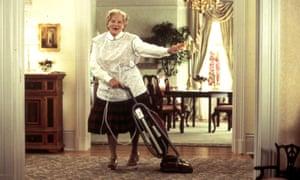 Robin Williams in Mrs Doubtfirew