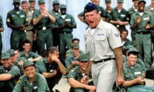 Robin Williams in 1987's Good Morning Vietnam.