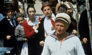 Robin Williams as Popeye in 1980
