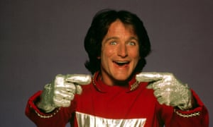Robin Williams in the TV series Mork and Mindy.