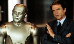Robin Williams and Sam Neill in 1999's Bicentennial Man