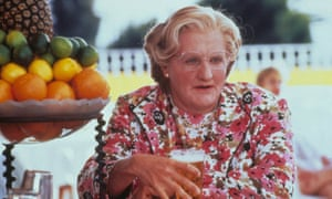 Robin Williams played a Scottish nanny in Mrs Doubtfire.