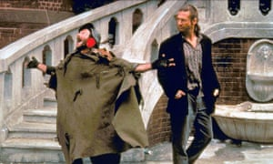 Robin Williams with Jeff Bridges in 1991's The Fisher King.