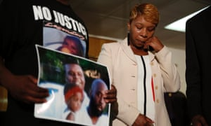 Michael Brown mother and father