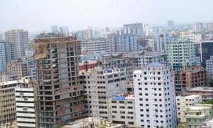 Urban Sprawl Dhaka