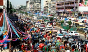 Dhaka was once known as the city of Rickshaws