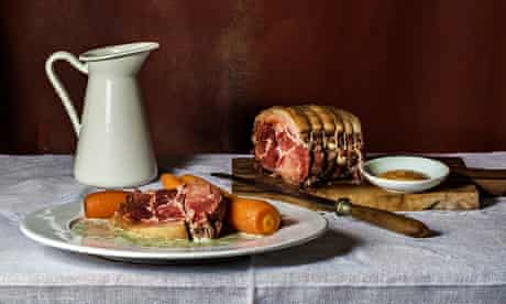 Boiled Ham and Parsley Sauce