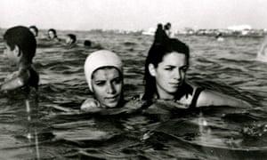 Caspian Sea in Iran 1960s