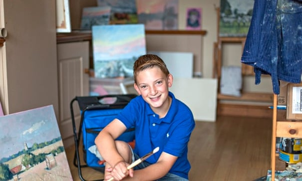 Kieron Williamson: portrait of the artist as a young man   Life and