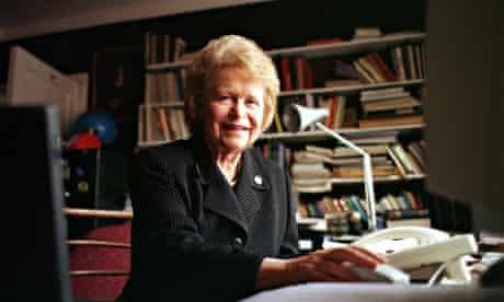 Dame Kathleen Ollerenshaw in 1998.