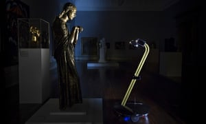 Tate Britain robot viewing art After Dark project