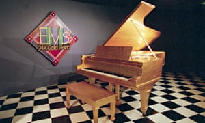 Elvis Presley's 24K Gold Piano