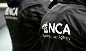 Officers from the National Crime Agency