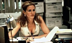Julia Roberts as Erin Brockovich, 2000