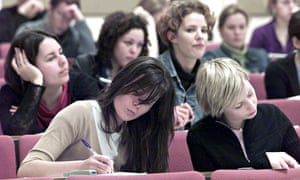 Manchester University students