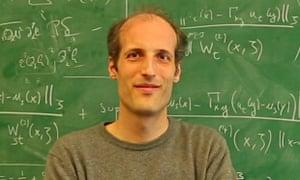 2014 Fields Medal winner Martin Hairer