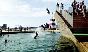Harbour bath Copenhagen