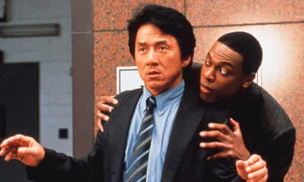 Jackie Chan and Chris Tucker star in the action-comedy Rush Hour 2