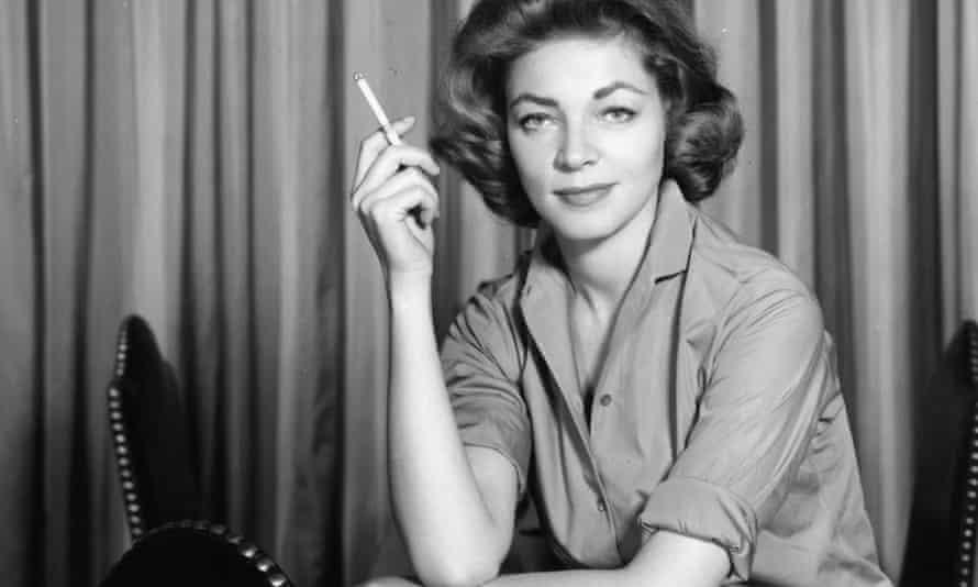 Lauren Bacall publicity portrait, 1958. (Photo by Cornel Lucas/Getty Images) Lauren Bacall LAC0040