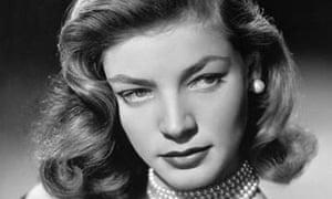 Lauren Bacall in 1948.