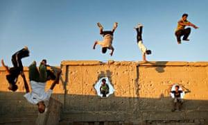 Parkour in Gaza 2012